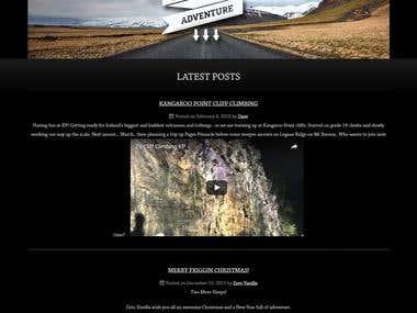 Custom Wordpress Site - ZV