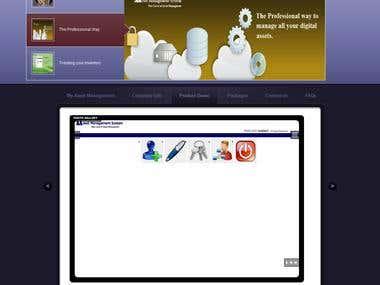 My Asset Mananagement Website