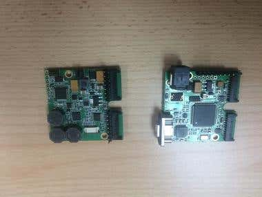 Motor Interface Board and Motor Controller Board