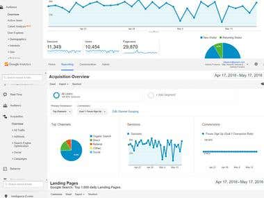 Google Analytic - Traffic Reporting