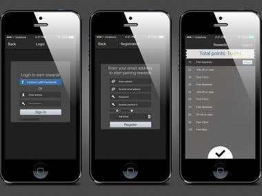 iOS & Android application