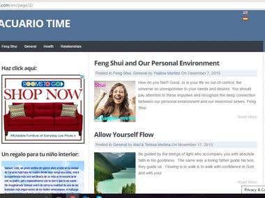 Digital Magazine Acuario Time