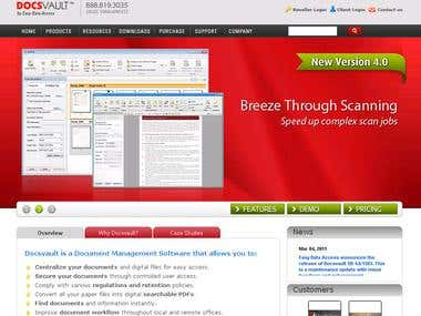 Document Mangement Software Website