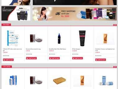 E-commerce Store using Opencart