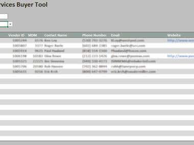 Buyer tool