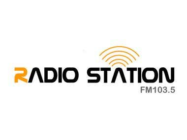 Radio Station Logo Template