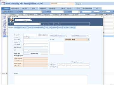Project Planning and Inventory Management System