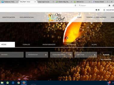 www.onlyreef.es