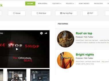 Beatsrack.com : Online music store , ecommerce
