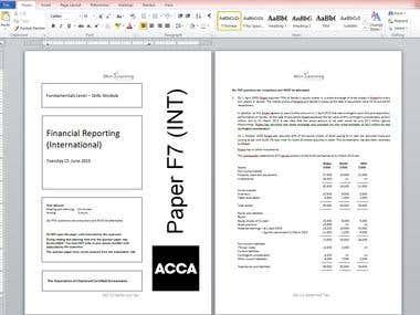 PDF to MS Word