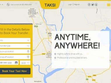Taksi boking application