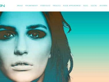 Beauty Salon Website with Appointment Booking System