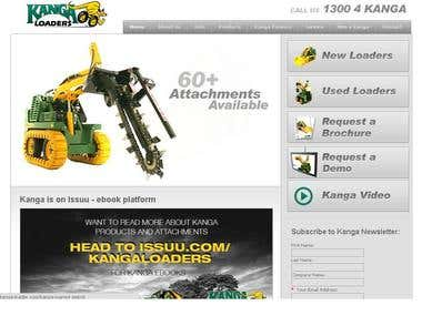 Loaders product website