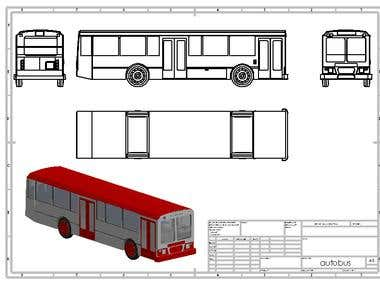 bus 2d blueprint