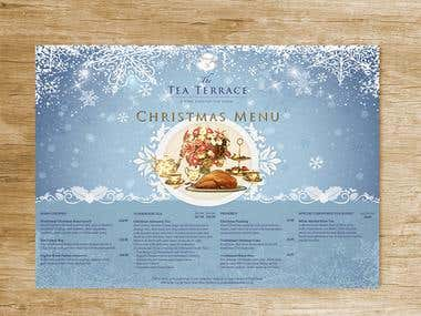 Christmas Menu Project.