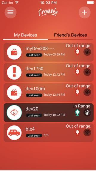 Trouver IOS App