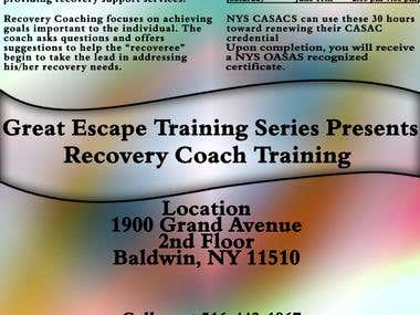 RecoveryCoach Flyer