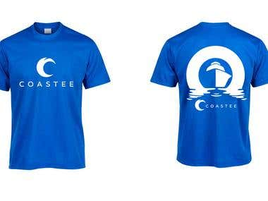 Coastal Themed T-shirt