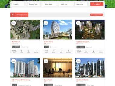 Real Estate Website Fully Responsive