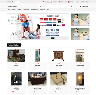 Ecommerce Site Opencart