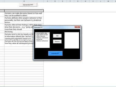 PowerPoint Presentation Automation
