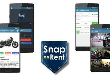 Snap On Rent (Android App)