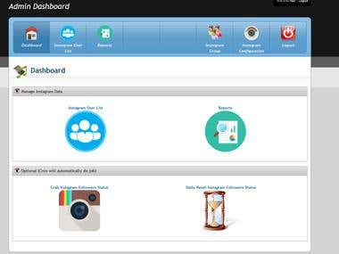 Daily instagram followers report for unlimited accounts