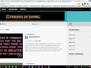 Friends of Daniel