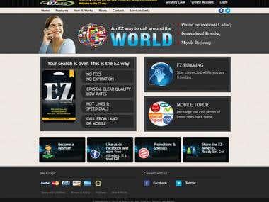 Ez calling website