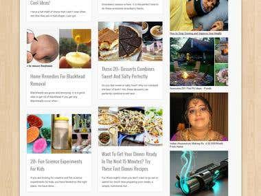 Pondic Website development