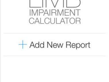 UL Impairment Calculator APP