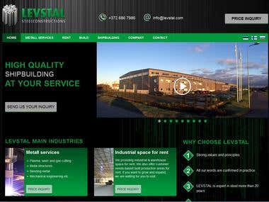 Levstal Steel Construction.
