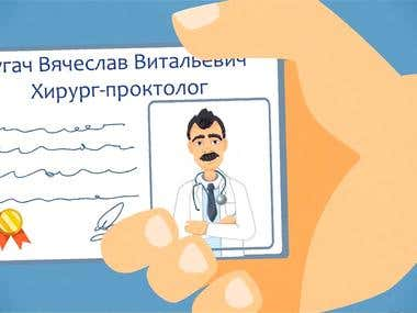 Animated Explainer Video for Doctor