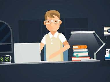 Animated Explainer Video - yourASEcu credit card
