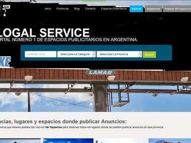 Web de Anuncios Publicitarios