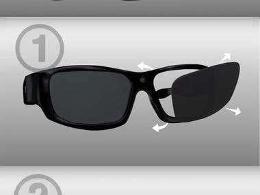 GoVision 3 Glasses Animation