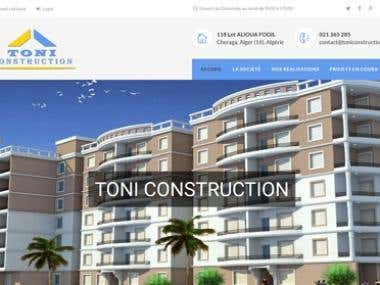 Web site for a real estate agency in algeria