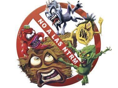 Illustrated Logo British american tobacco