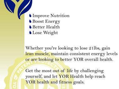 Yor Health Flyer