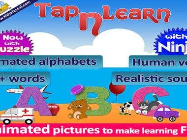 Tap and learn ABC