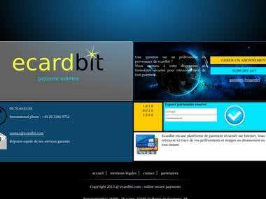 Site plateforme paiement en ligne