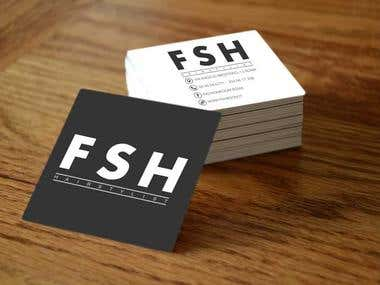Business card and notes