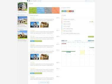 Find or sell accomodations website design