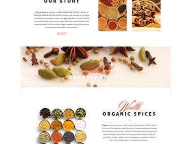 24Carat Spices - Wordpress Website with Ecommerce