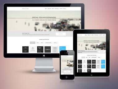 Website design for Stebicom