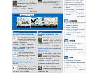 Sundaytimes Newspaper website
