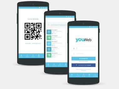 Cros-platform mobile app (Ionic)