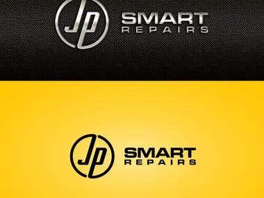 Logo & Banner for JP smart repair comapny
