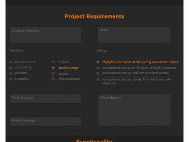 Input Forms with ajax