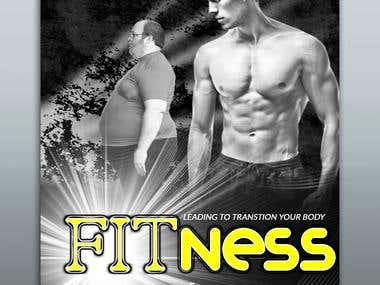 Gym Book Cover Design